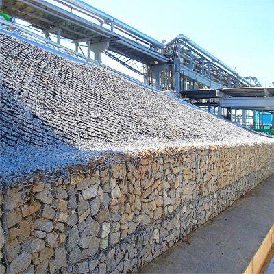 供应镀锌六角网箱子 包塑石笼网箱子 高尔凡格宾网 雷诺护垫 厂家 环标丝网