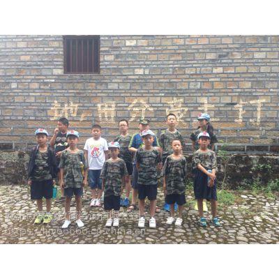 2018赣州亮剑军训夏令营让我学会坚强的赣州儿童夏令营
