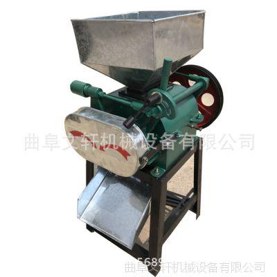 其他分离设备 对辊式大豆挤扁机 油坊专用轧豆扁机械