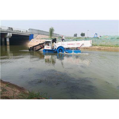 武陵源河道水草清理、水下水草打捞船