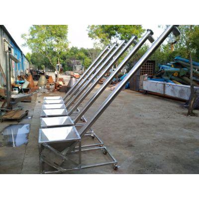 粉末螺旋提升机厂商固定型 特价螺旋提升机厂