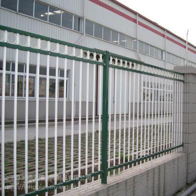 厂区围墙护栏 交通道路栏杆 安全防护围栏