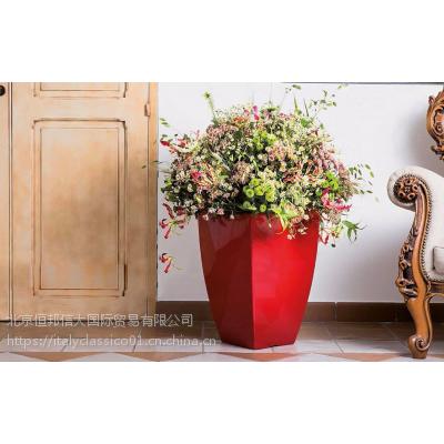 STARK花瓶意大利进口大理石花盆装饰品牌