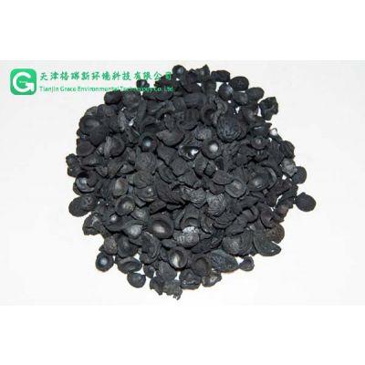 厂家供应果壳活性炭滤料填料_高强吸附活性炭_废气过滤
