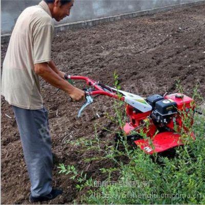 圣鲁汽油大马力旋耕机 多功能农用果园除草机