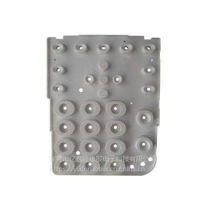 多功能电话机硅胶按键 异形导电硅胶按键 东莞多功能电话机硅胶按键定制加工厂