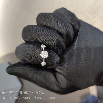压带法HPHT培育钻石合成钻石白色裸钻毛坯