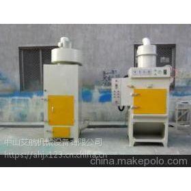 中山喷砂机 艾航履带喷砂机塑胶五金处理设备