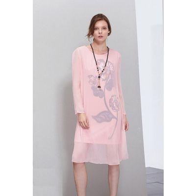 时尚品牌女装折扣大码女装高档女装库存批发货源