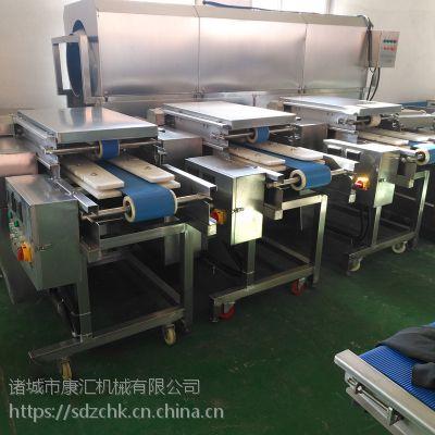 康汇牌QP-200全自动雪花鸡柳切片机 双速可调厚薄均匀质量保证