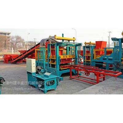 供应文安水泥陶粒砖设备厂/建丰免烧彩砖机价格