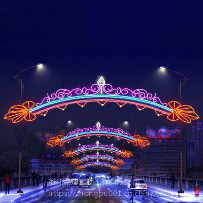节日亮化布置圣诞节灯光亮化造型街道亮化灯生产厂家