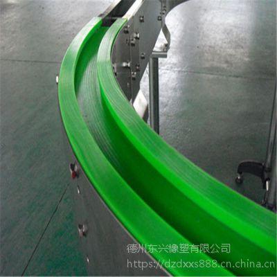 盐城供应 高耐磨转弯导轨 静音滑动导向件 高分子聚乙烯链条导轨