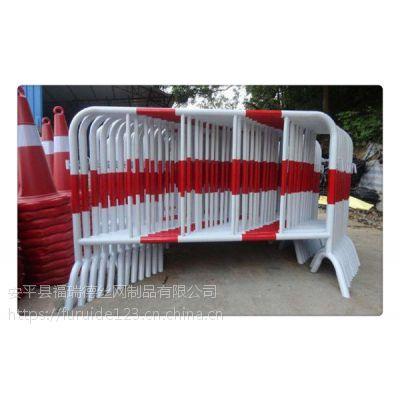 120cm高圆管临时隔离栏厂家批发