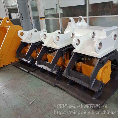 山东挖机打夯机厂家现代55小型挖机配套液压夯
