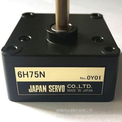 现货供应NIDECSERVO电机减速箱6H75N日本电产伺服马达齿轮头