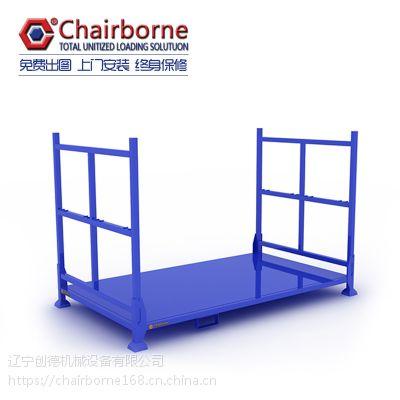 金属巧固架可折叠货架堆垛架布匹布叠布匹轮胎轮毂