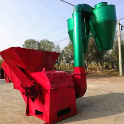 养殖大型秸秆粉碎机 自动进料饲料粉碎机 养殖场专用粉碎机