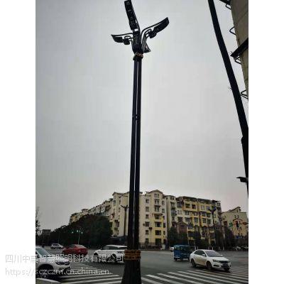 四川定制路灯生产厂家丶什邡景观灯厂家-LED灯杆中晨智慧