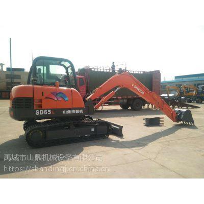 西藏和春市山鼎小型挖掘机