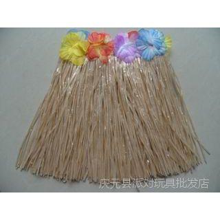 夏威夷草裙速卖通莫阿娜裙子咖啡色草色海洋奇缘30CM40CM60CM80CM
