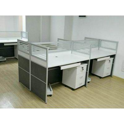 雷业办公家具厂家 出售工位桌 员工办公桌工作位 电脑桌 屏风隔断桌