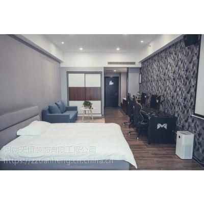 郑州电竞酒店装修河南电竞酒店设计风格集网咖电竞酒店转型跨界新模式很火爆