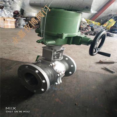 高品质电动球阀 Q941F-40P DN80 国标不锈钢电动球阀 Q941F-64P 厂家直销