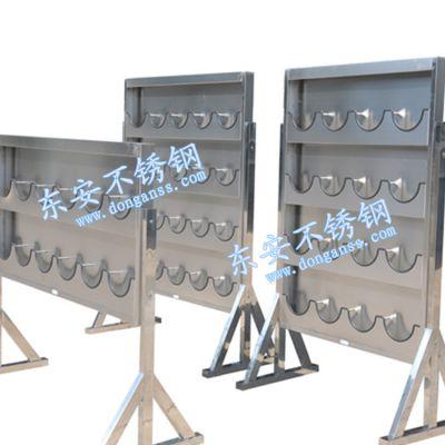 东安厂家定制SSC系列不锈钢壁挂式安全帽架安全帽放置架可配支架