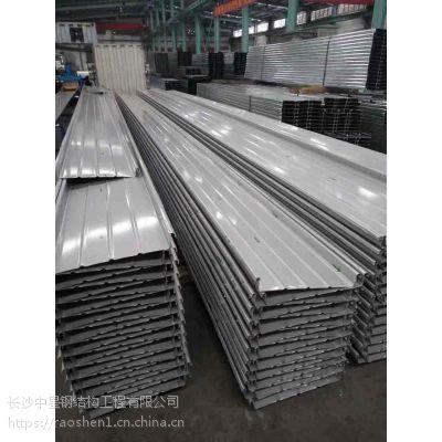 湖南铝镁锰合金屋面板YX65-430厂家供应