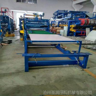 河北兴和复合板机热卖全自动泡沫岩棉一体机  复合板流机水线