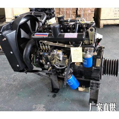 宁波490G四缸柴油机 配套潍柴38千瓦装载机推土机专用柴油发动机