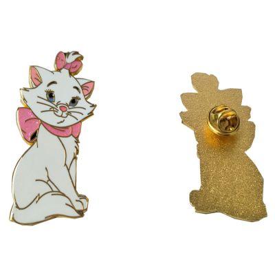 厂家定做金属徽章猫牌胸针订做招财猫胸章制作物美价廉