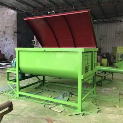 无死角的饲养场搅拌机 TMR粉碎混料机 电动小型拌草料机