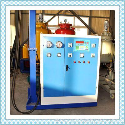供应聚氨酯直埋保温管发泡设备 高压聚氨酯发泡机价格`