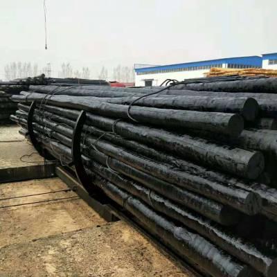 防腐油木杆7米8米-厂家直销