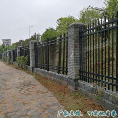 热镀锌钢护栏 汕尾围墙栅栏规格 揭阳喷塑组装式栏杆现货供应