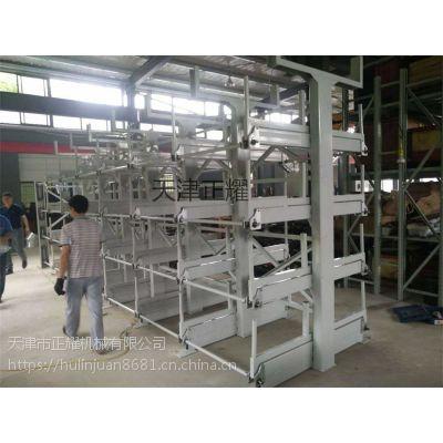 悬臂式货架是如何小空间存放管材 棒料 管道 圆钢 方管的 优势在哪里