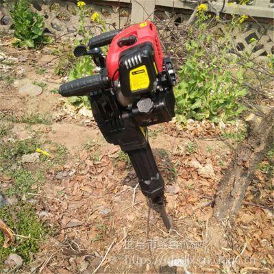 单人操作挖树机 直销汽油挖树机 圣鲁牌