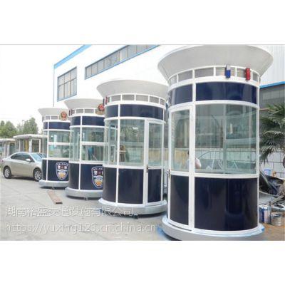 萍乡警务亭制作厂家,石门优质警务亭价格,一款被全世界记住的警务亭样式
