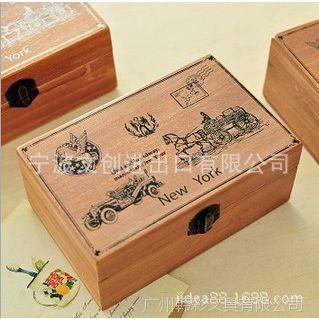 日韩文具批发 斯普维加 西洋实木收纳盒复古收纳盒SV13-302