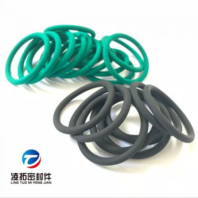定制蓝色VT氟胶O型圈70到90邵氏硬度防水耐磨抗压O型密封件