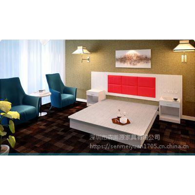 森美源家具厂家定制公寓酒店全套板式家具质量优价格廉