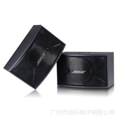 专业音响 狮乐BX106高端KTV专业卡包箱 10寸舞台、会议全频木制音箱