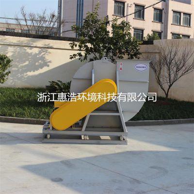 浙江惠浩4-72钢制离心风机 工业除尘防爆离心风机 C式皮带传动 左旋90度