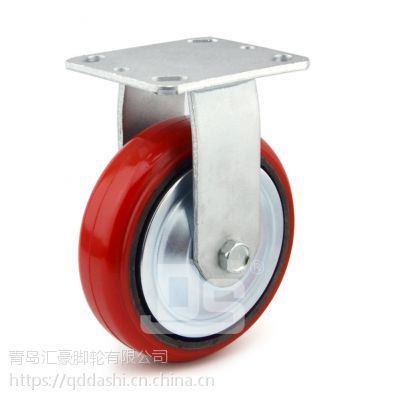 重型脚轮 铁芯聚氨酯 载重320-400kg