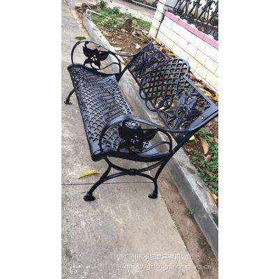公园铸铁长椅 户外椅公共家具 康图在线咨询