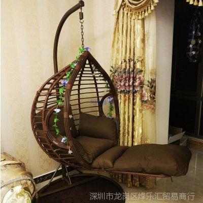 吊篮藤椅成人吊床室内家用客厅秋千懒人吊椅阳台单人睡觉摇篮椅