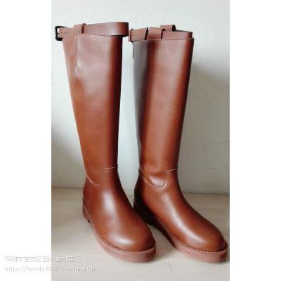 广州鞋厂定做加工靴子皮鞋
