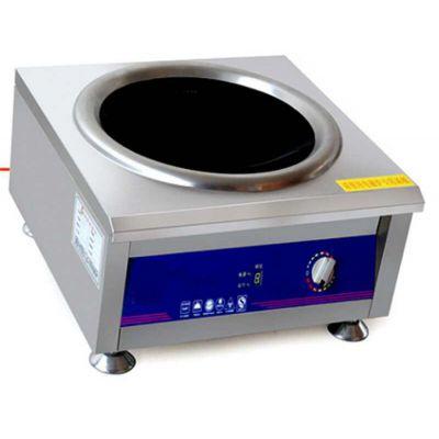 电磁单头小炒炉-电磁单头小炒炉报价-鲲鹏厨房设备(推荐商家)